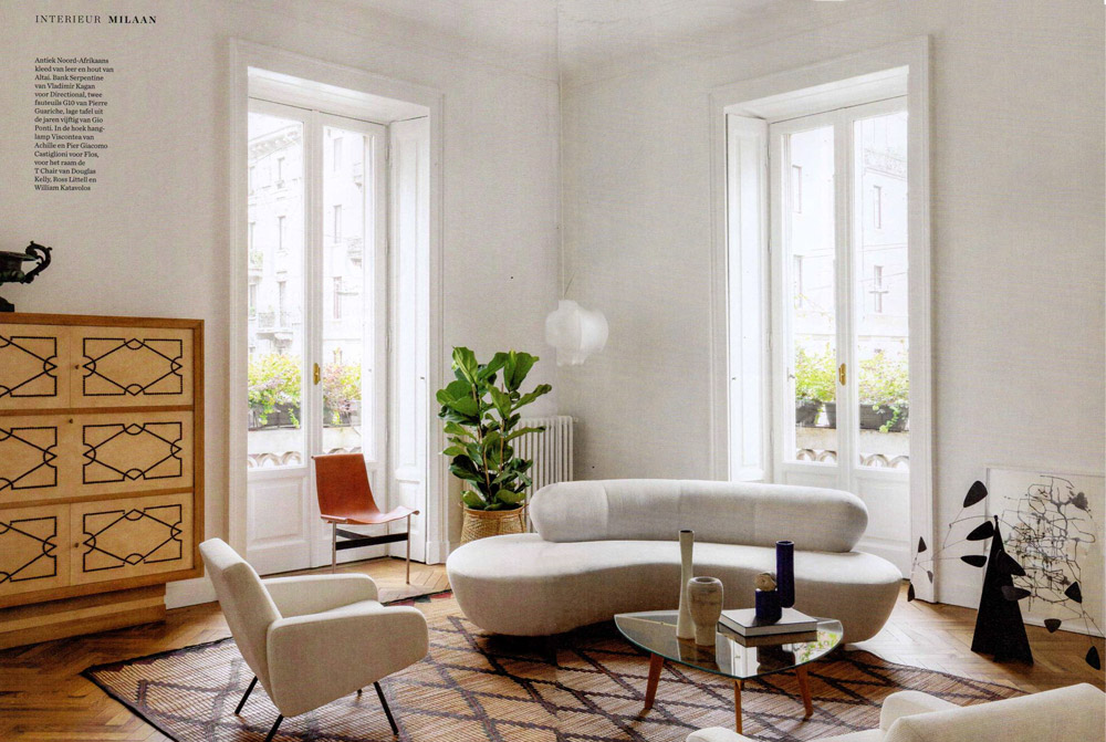 ELLE DECORATION NL, AAN DE ROL, CALM AND COLLECTED, milaan interieur, march 2020